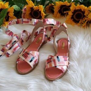 NWOB Louise et Cie Biglia Ankle Wrap Sandal